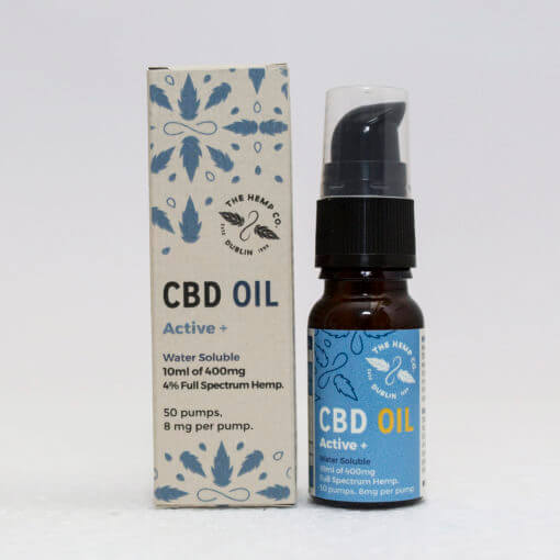 Dutch Natural Healing  active+ 10ml - 400mg CBD