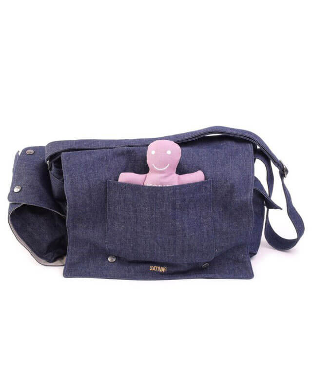 Pure Sativa Hemp Baby Changer Shoulder Bag