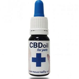 Dutch Natural Healing CBD oil for pets 10ml - 200mg CBD
