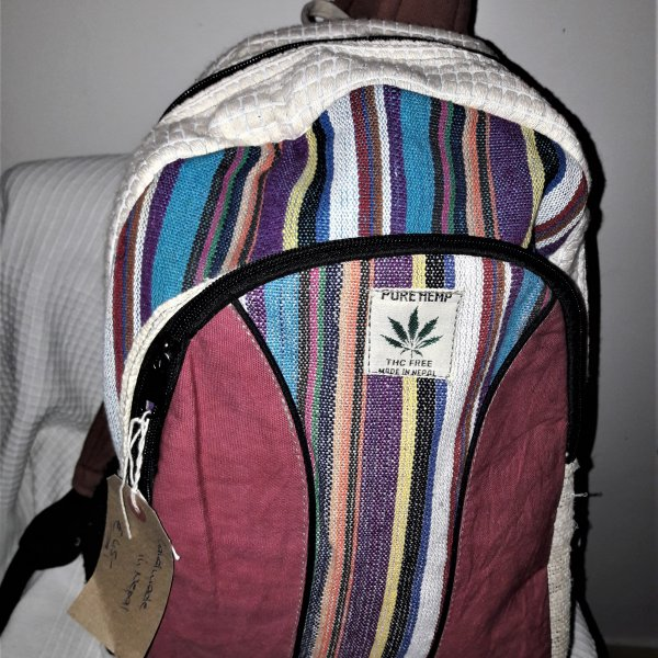 Nepalese Hemp Backpack