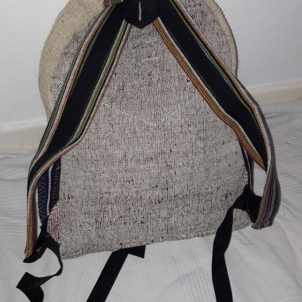Pure-Hemp Handmade Nepalese Backpack
