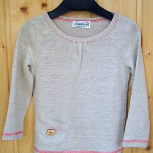 Girls Pure Hemp Long Sleeve Shirt