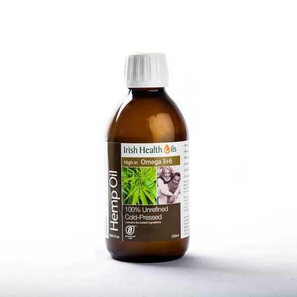 Irish Health Oils - Hemp Seed Oil 250ml