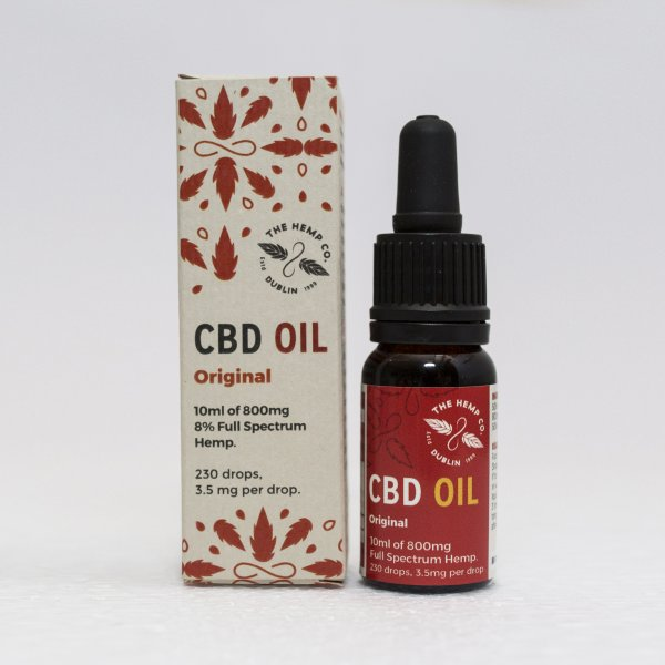 Dutch Natural Healing CBD Oil - 10ml - 800mg CBD