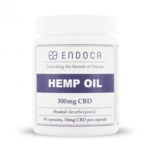 Endoca Hemp Oil Capsules - 300mg CBD