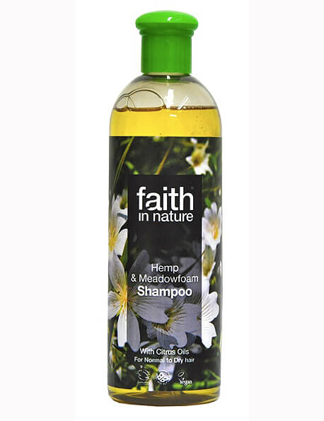 Faith In Nature - Hemp & Meadowfoam Shampoo - 400ml