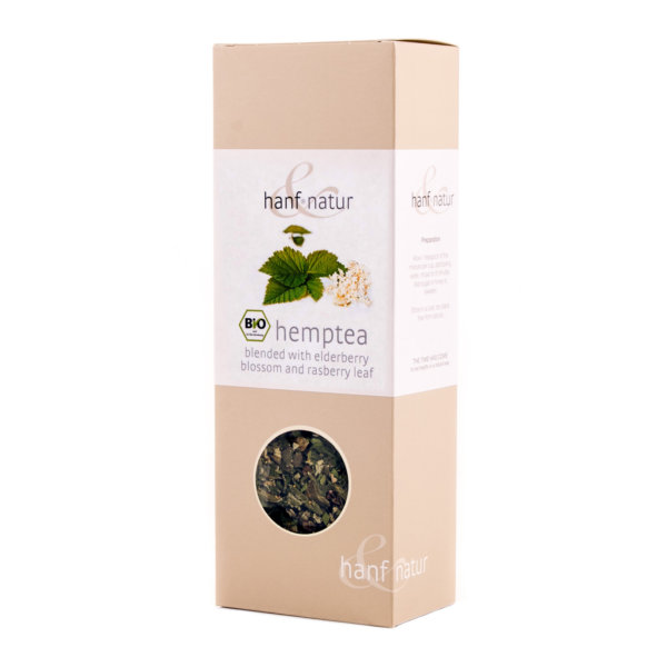 Hemp Tea Blend with Nettles and Blackberry Leaves